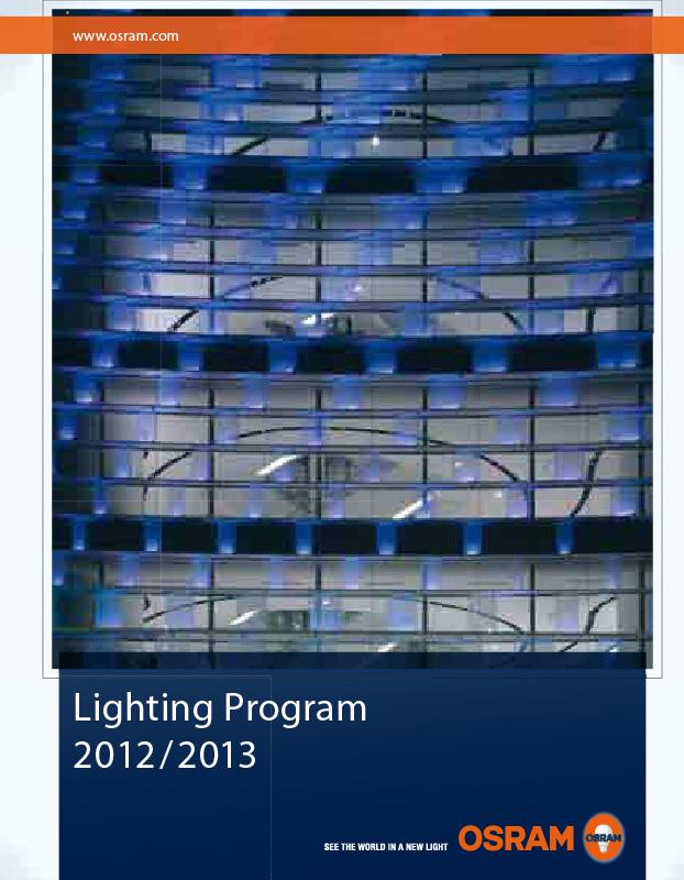 2014 Osram Lighting Program Catalogue